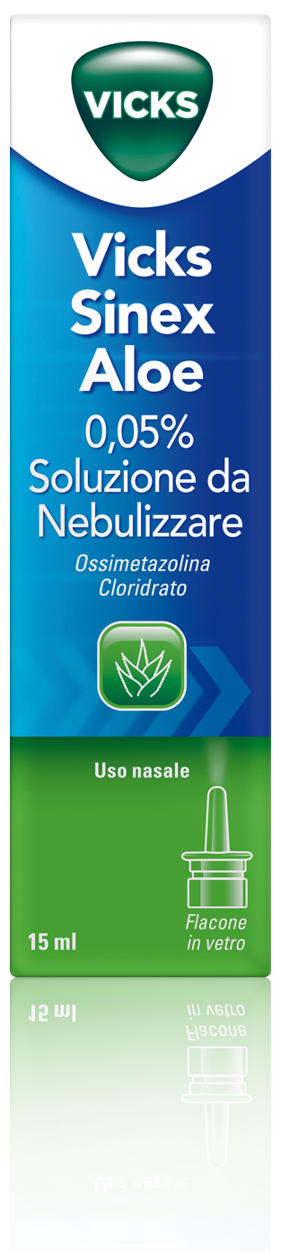 Vicks Sinex Aloe 0,05% Soluzione Nasale Da Nebulizzare 15ml - Farmawing