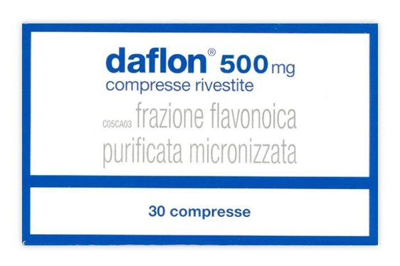 DAFLON*30CPR RIV 500MG - FarmaHub.it