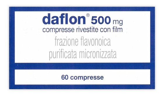 DAFLON*60CPR RIV 500MG - Farmawing