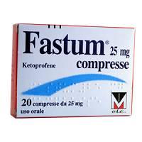 FASTUM*20CPR 25MG - Farmaciacarpediem.it