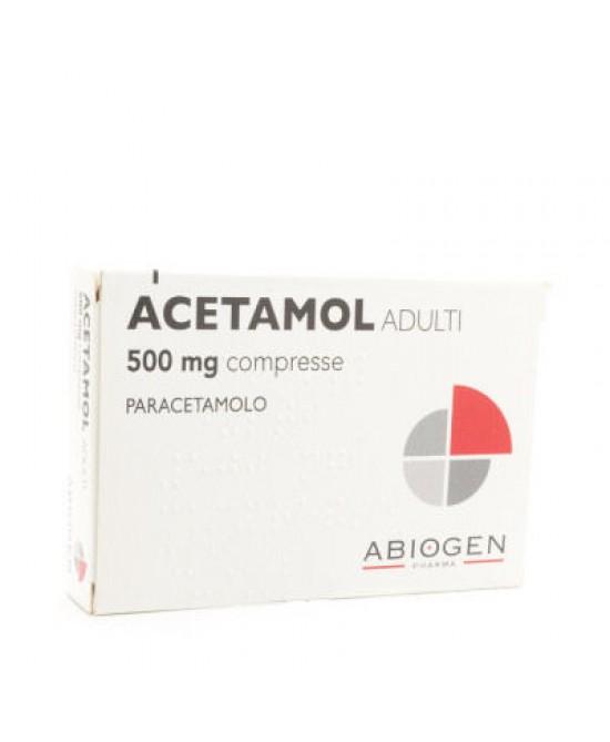 ACETAMOL*AD 20CPR 500MG - FARMAPRIME