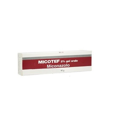 MICOTEF*OS GEL 40G 2% - Farmapc.it