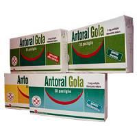 ANTORAL GOLA*20PAST 5MG S/Z ME - Farmacia 33