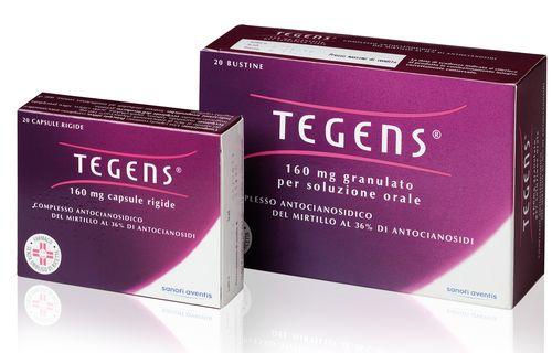 Sanofi Aventis Tegens 160mg Granulato Per Soluzione Orale Stati Di fragilità Capillare 20 Bustine - Zfarmacia