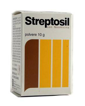 STREPTOSIL NEOMICINA*POLV 10G - Farmaunclick.it