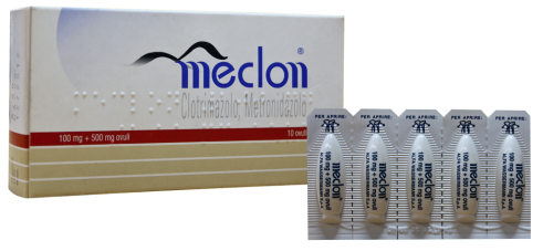 MECLON*10 OVULI VAG 100+500MG - Farmajoy