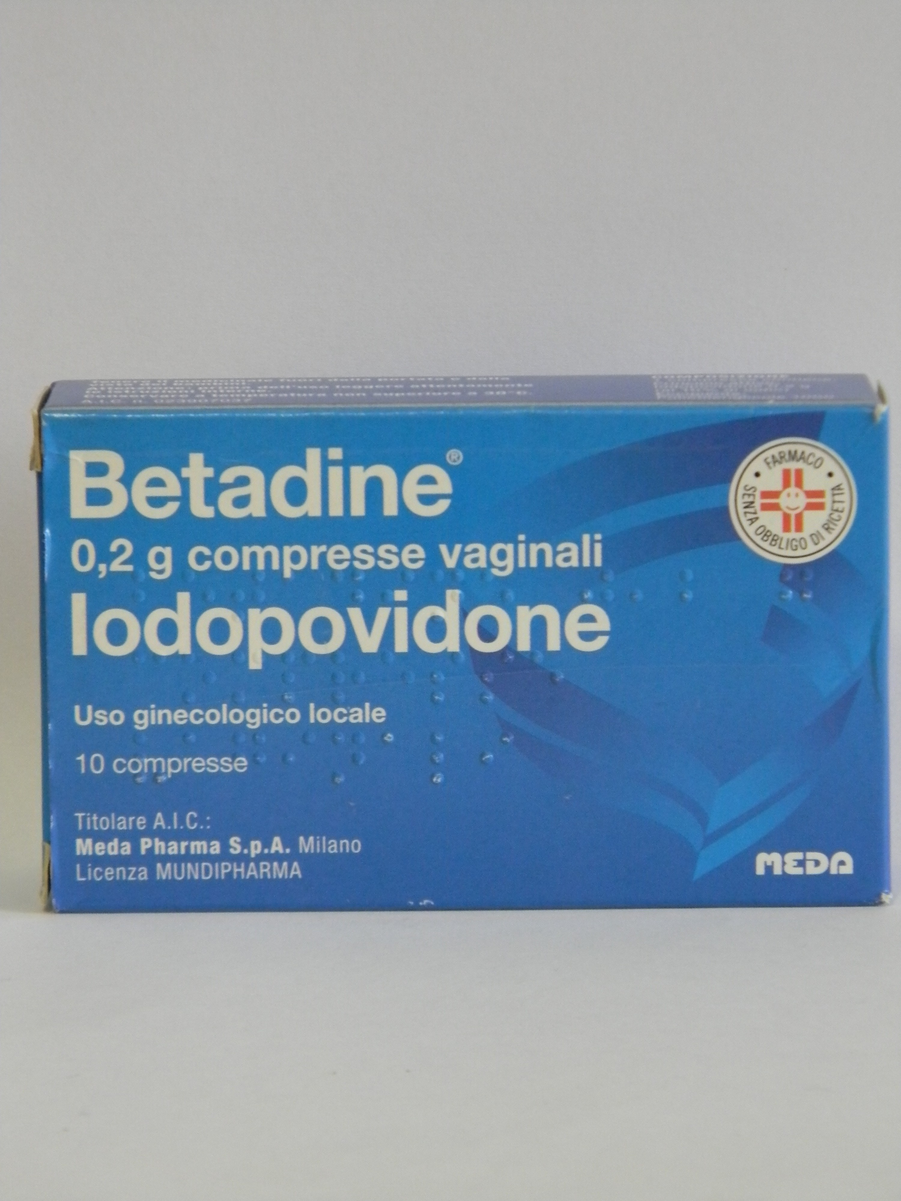 BETADINE*10CPR VAG 200MG - Farmawing