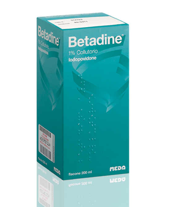 BETADINE*COLLUT FL 200ML 1% - Farmajoy