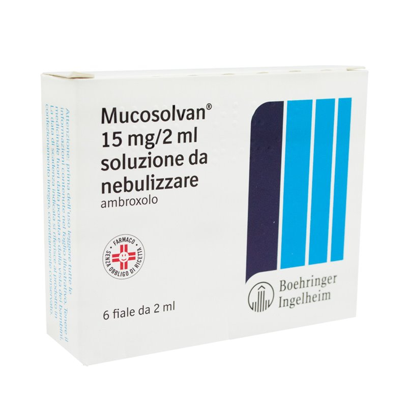 MUCOSOLVAN*NEBUL 6F 15MG 2ML - Farmaciacarpediem.it