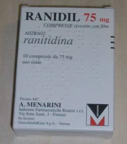 Ranidil 75mg 10 Compresse - Farmaciacarpediem.it
