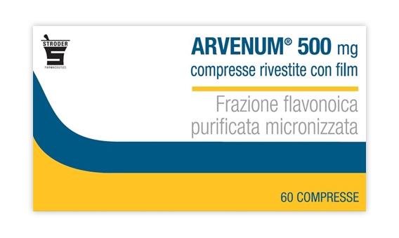 ARVENUM*60CPR RIV 500MG - FARMAPRIME