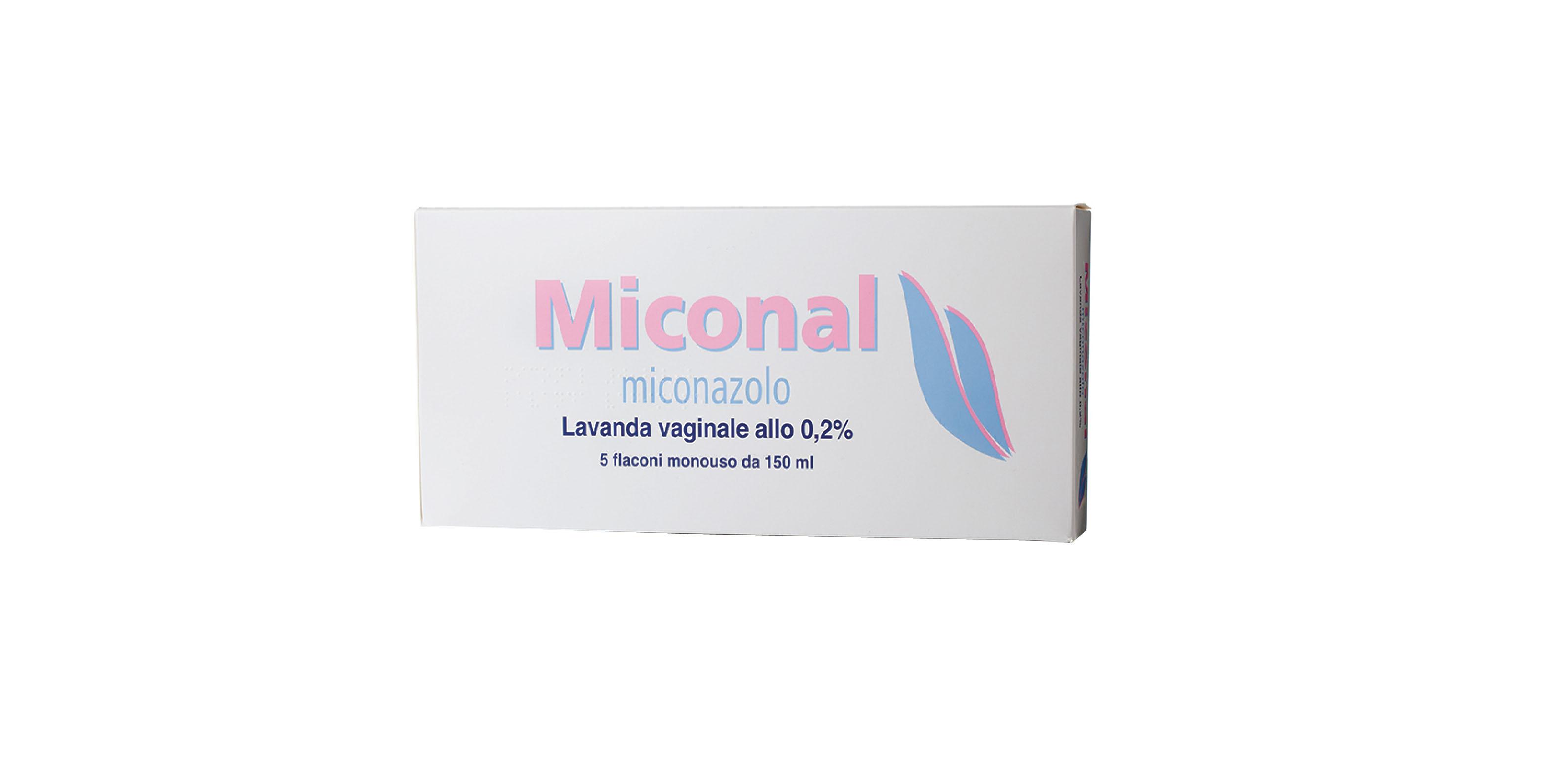 MICONAL*LAV VAG 5FL 0,2% MONOD - SUBITOINFARMA