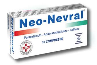 NeoNevral Paracetamolo 10 Compresse - Farmawing