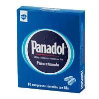 Panadol 500mg Paracetamolo 10 Compresse Rivestite - Nowfarma.it
