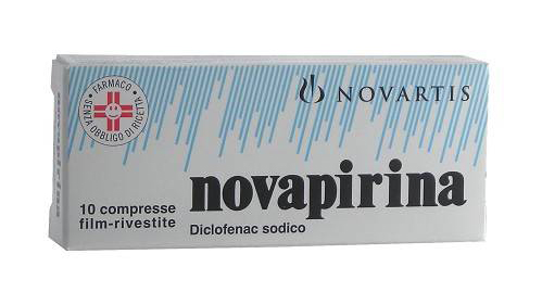 Novapirina 25mg 10 Compresse Rivestite - Farmagolden.it