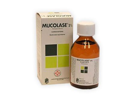 MUCOLASE*SCIR 200ML 5% - FARMAPRIME