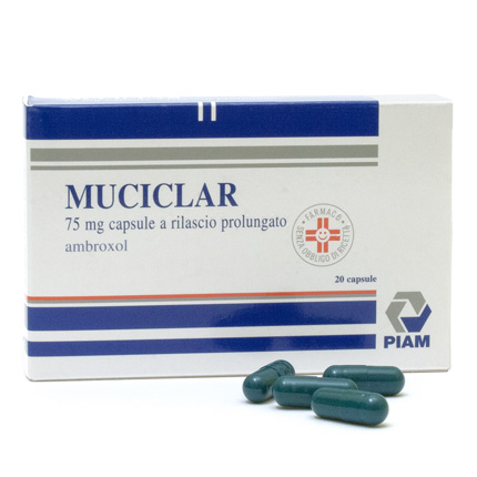 MUCICLAR*20CPS 75MG RP - FARMAPRIME