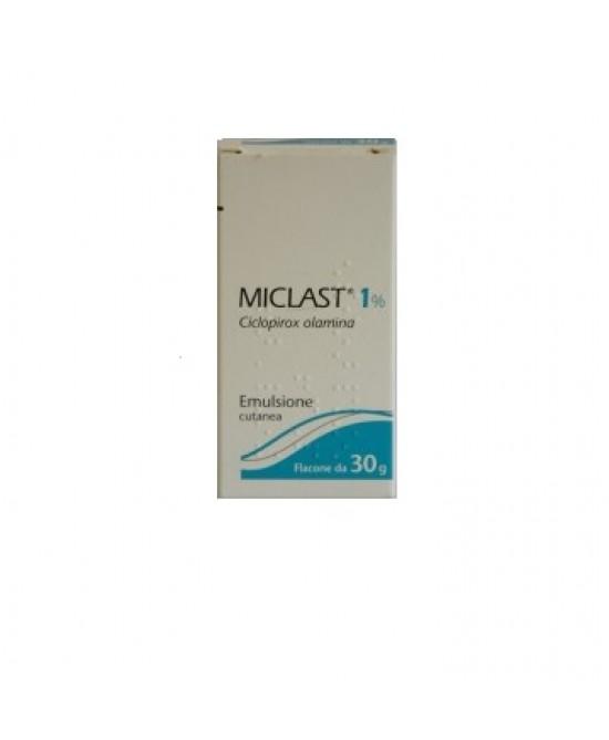 Miclast 1% Emulsione Cutanea 30g - Zfarmacia