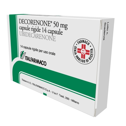 DECORENONE 50*14CPS 50MG - Farmaciacarpediem.it