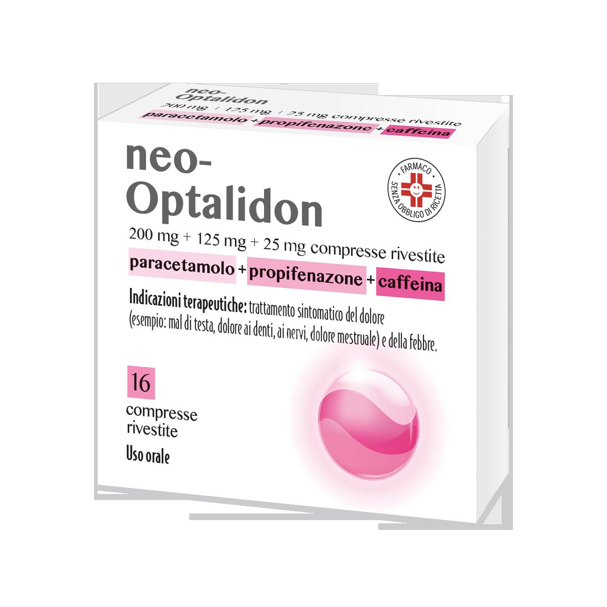 NEOOPTALIDON*16CPR RIV - pharmaluna
