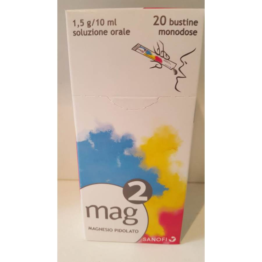 MAG 2*OS SOLUZ 20BUST1,5G/10ML - Farmastar.it