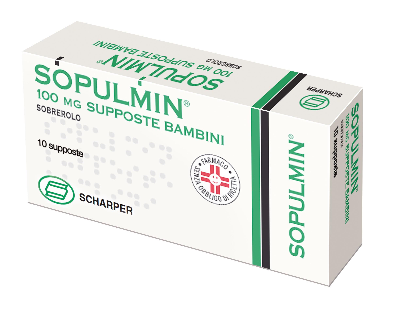 SOPULMIN*BB 10SUPP 100MG - Farmacia Basso
