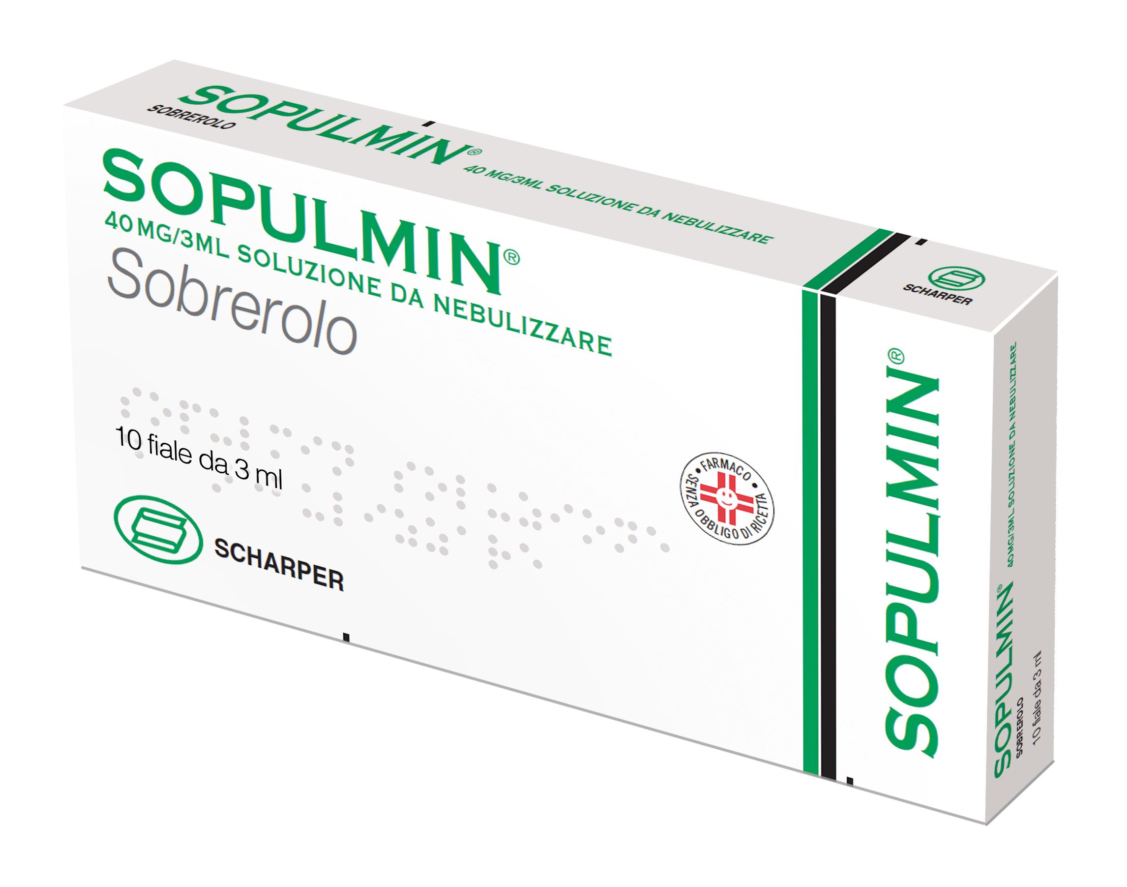 SOPULMIN*NEBUL 10F 3ML 40MG - Nowfarma.it