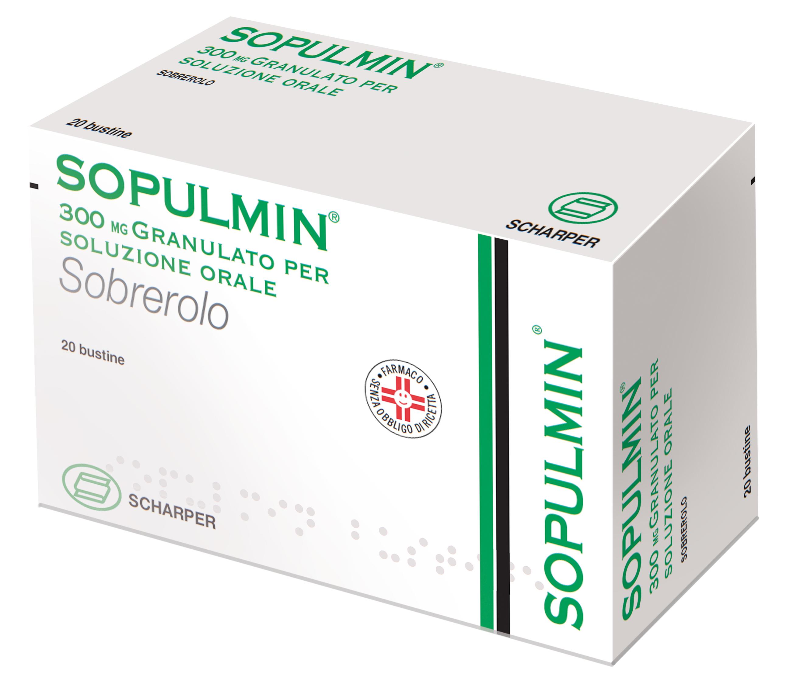 SOPULMIN*OS GRAT 20BUST 300MG - Farmastar.it