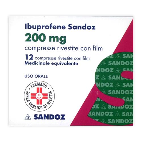 IBUPROFENE SAN*12CPR RIV 200MG - Parafarmacia la Fattoria della Salute S.n.c. di Delfini Dott.ssa Giulia e Marra Dott.ssa Michela