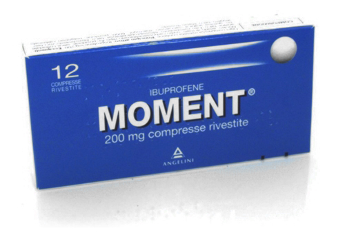 MOMENT Ibuprofene 200mg  12 Compresse - Farmapage.it