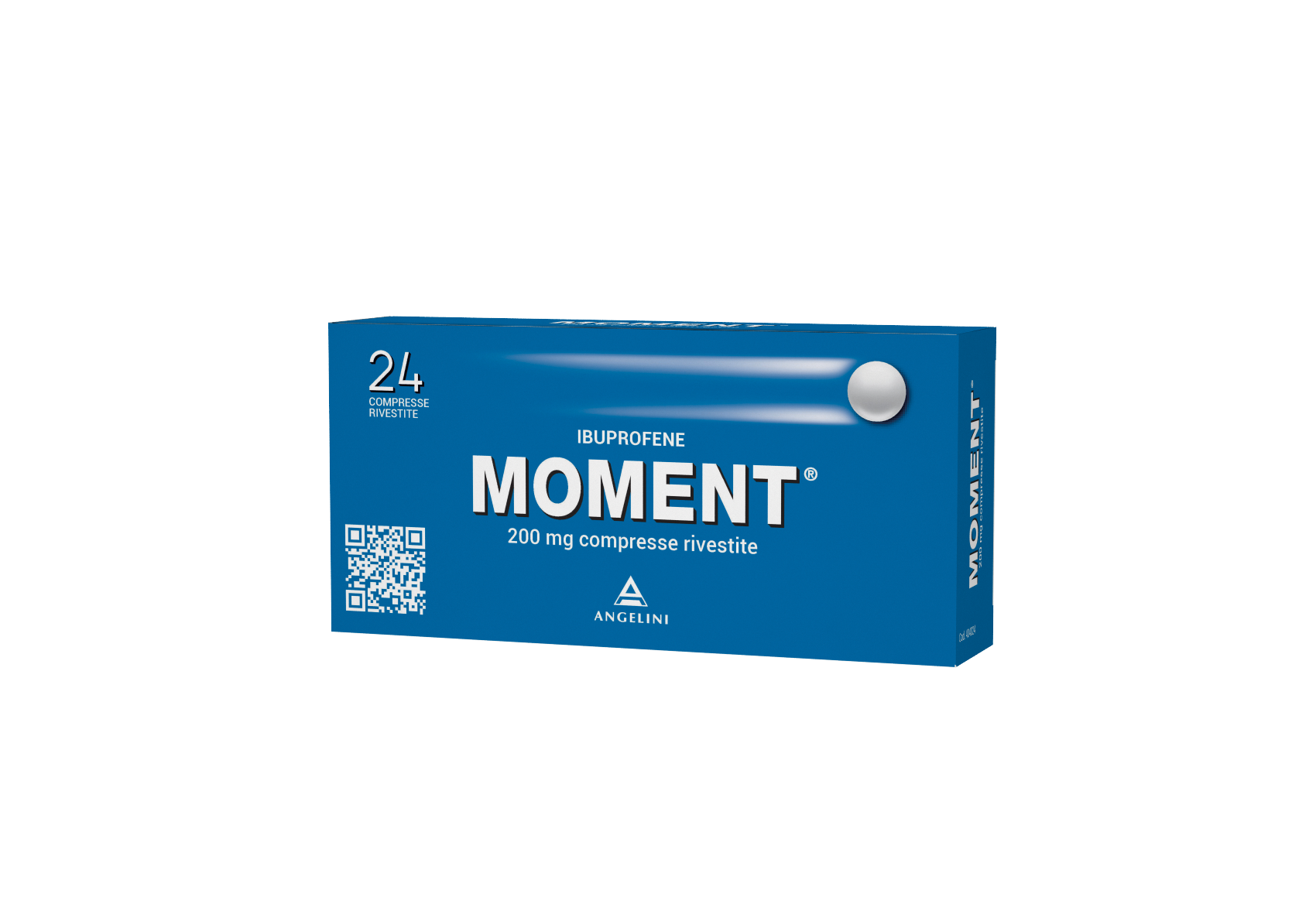 Moment 200mg Angelini Ibuprofene 24 Compresse Rivestite - Farmawing