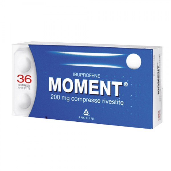 MOMENT 200mg Ibuprofene 36 Compresse - Farmapage.it