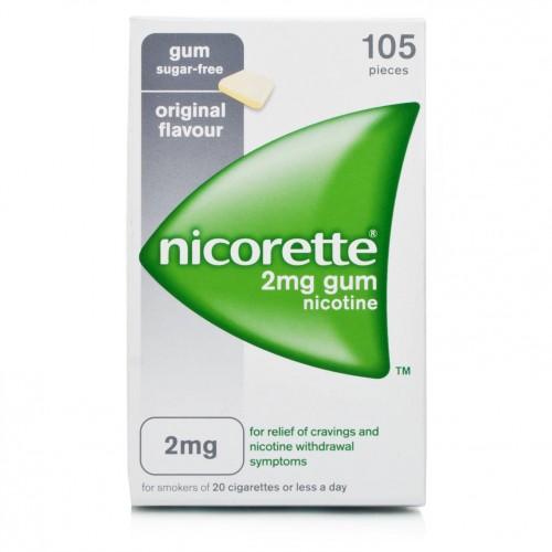 NICORETTE*105GOMME MAST 2MG - Farmacia Castel del Monte