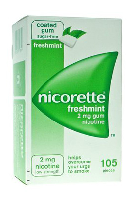 NICORETTE*105GOMME MAST 2MG ME - Farmawing