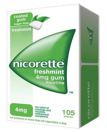 NICORETTE*105GOMME MAST 4MG ME - Farmacia Castel del Monte