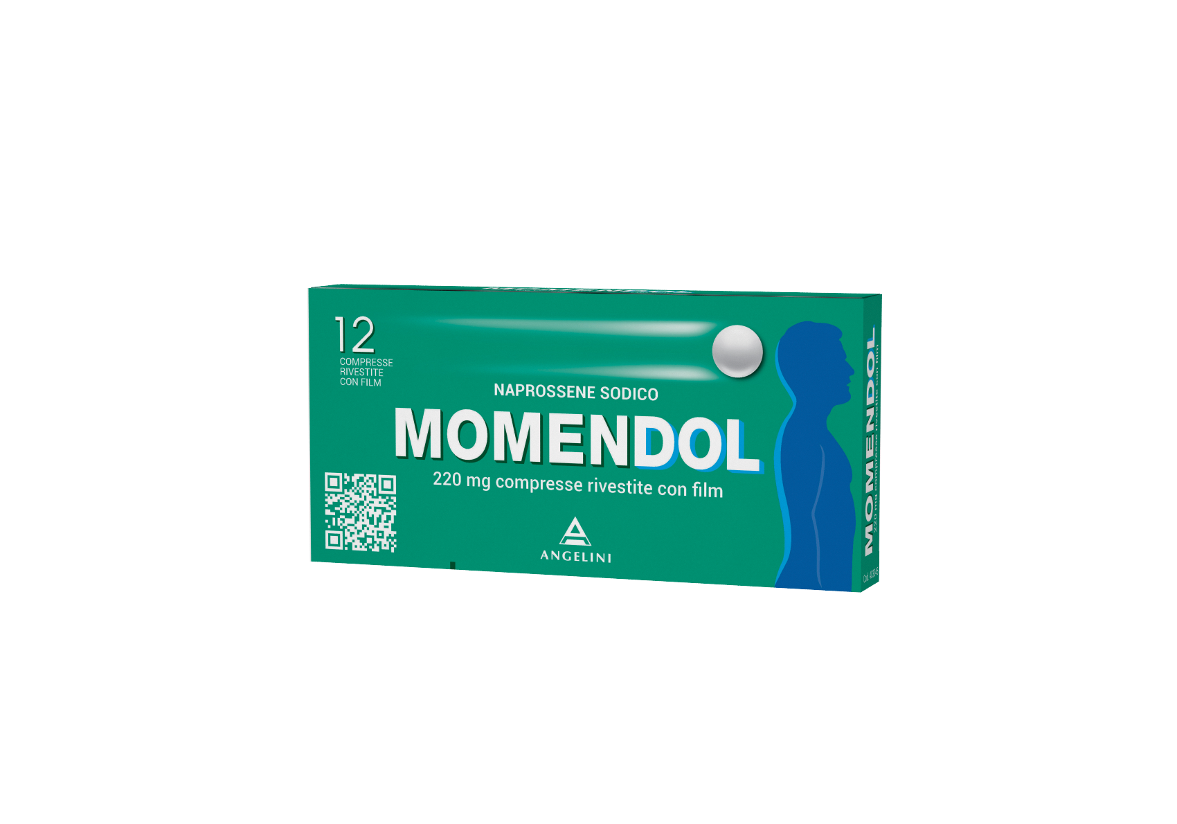 MOMENDOL Naprossene Sodico 220mg - 12 Compresse Rivestite - Farmapage.it