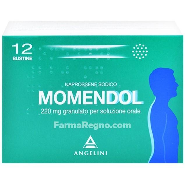 MOMENDOL*OS GRAT 12BUST 220MG - Farmajoy