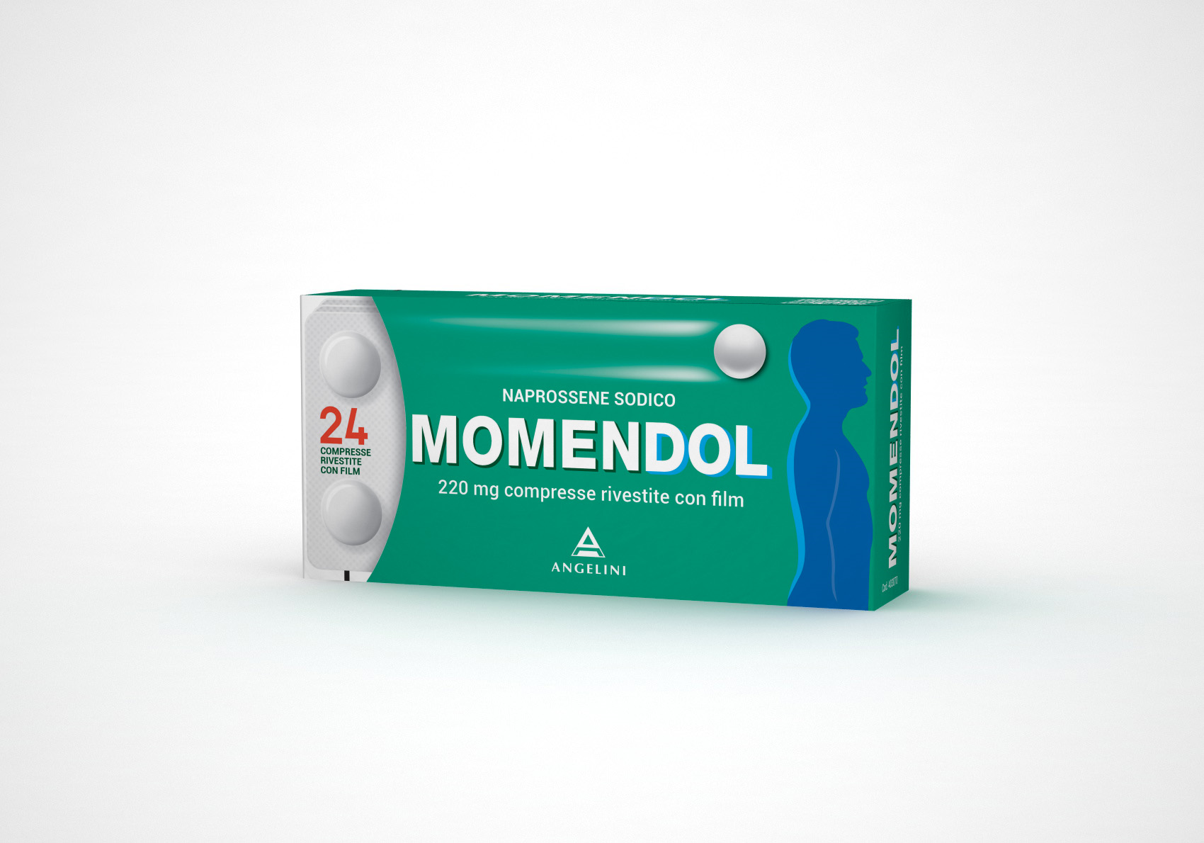 MomenDOL 220mg Naprossene Sodico 24 Compresse Rivestite - Arcafarma.it