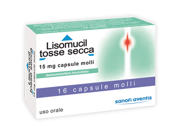 Sanofi Aventis Lisomucil Tosse Secca Sedativo Per La Tosse 16 Capsule Molli - Farmapage.it