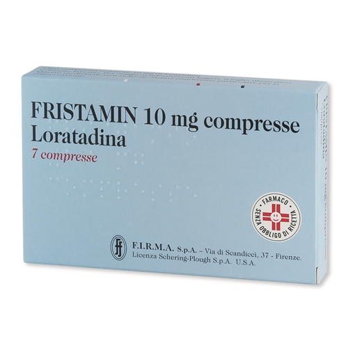 FRISTAMIN*7CPR 10MG - Farmawing