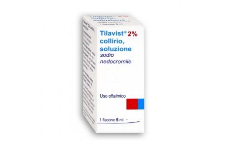 Sanofi Tilavist 2% Collirio Per Occhi Allergici Ed Arrossati 5ml - Farmaci.me