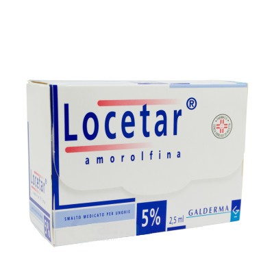 LOCETAR*SMALTO UNGHIE 2,5ML 5% - pharmaluna