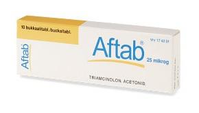 AFTAB*10CPR ADESIVE BUCC 0,025 - farmasorriso.com