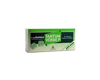 TANTUM VERDE P*20PASTL 3MG MEN - pharmaluna