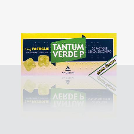 TANTUM VERDE P*20PASTL 3MG LIM - Farmajoy