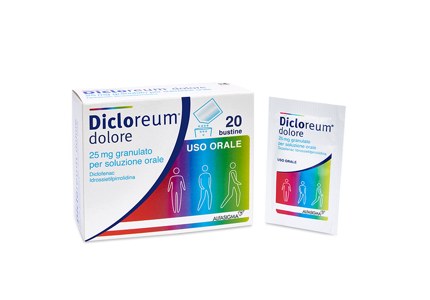 DICLOREUM DOLORE*20BUST 25MG - DrStebe