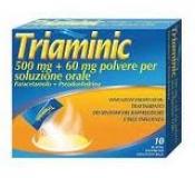 TRIAMINIC*OS 10BUST 500MG+60MG - Farmastop
