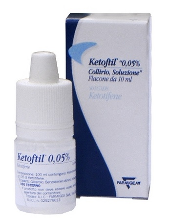 KETOFTIL*COLL FL 10ML 0,5MG/ML - FARMAPRIME