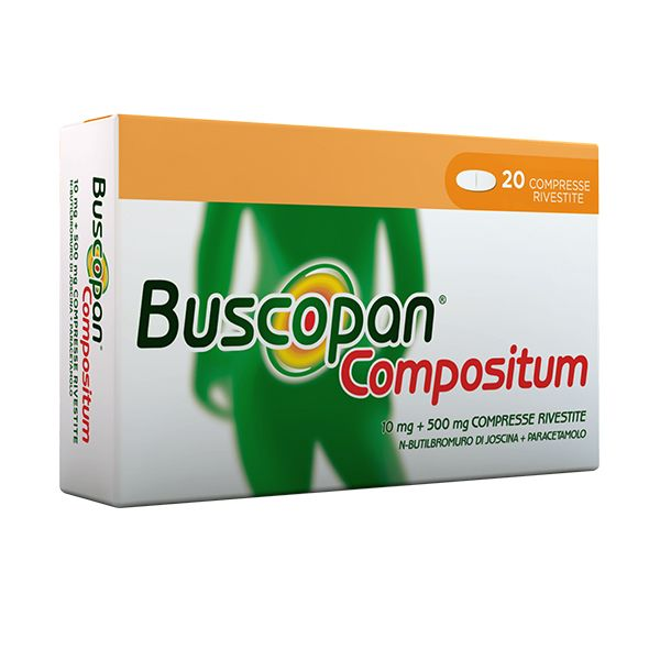 BUSCOPAN COMPOSITUM*20CPR RIV - Farmawing