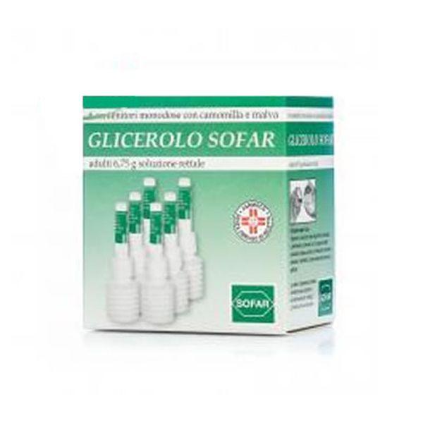 GLICEROLO SOFAR*6CONT 6,75G - Farmacia Barni